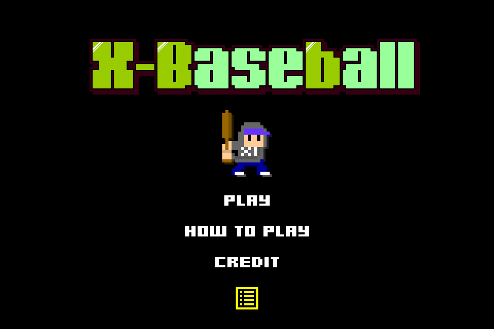"Screenshot XLARGE® ""X-Baseball"""