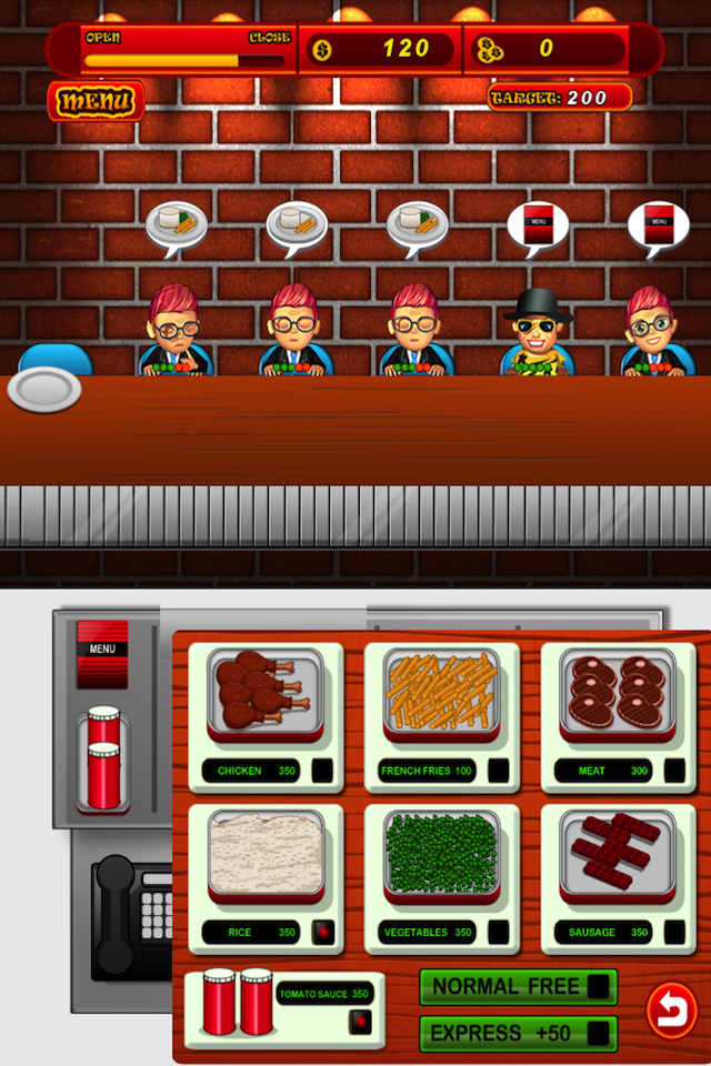 Screenshot Food Hero Madness Lite